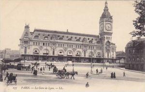 La Gare De Lyon, Paris, France, 1900-1910s