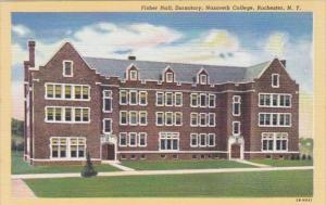 New York Rochester Fisher Hall Nazareth College Curteich