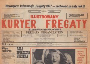Kuryer Fregaty 1977 Polish Poland Newspaper