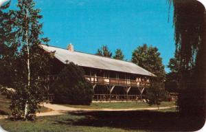 Rothbury Michigan Jack And Jill Ranch Hitching Post Vintage Postcard K90647