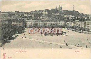 Postcard Old Place bookstore lyon