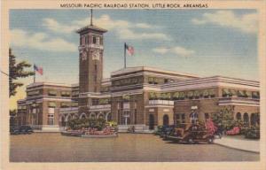 Arkansas Little Rock Misouri Pacific Railroad Station