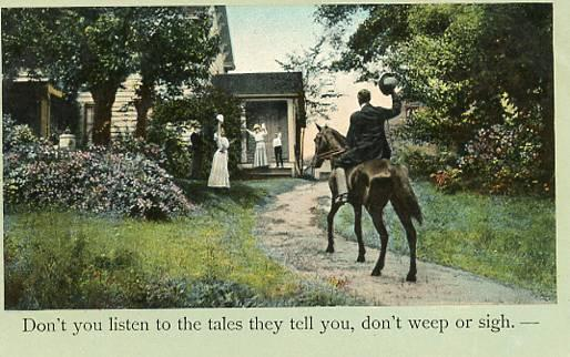 Don't You Listen To The Tales They Tell You
