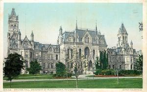 Philadelphia University of PA~Detroit Publishing #5536~College Hall~1905 PC