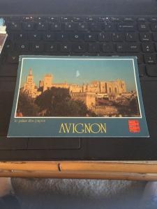 Vtg Postcard: Avignon, a Palais De Papes, Monaco
