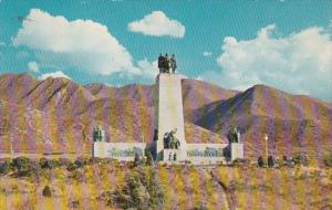 Utah Salt Lake City This Is The Place Monument Emigration Canyon