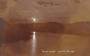 Tennessee Nashville Moon Light From The Bridge