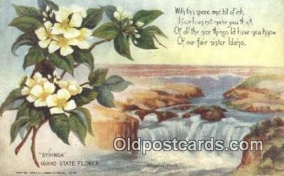 Boise, Idaho, ID State Capital USA 1912 postal used 1912