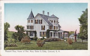 New Hampshire Concord Pleasant View Home Of Rev Mary Baker G Eddy