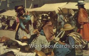 Huancayo, Peru Vendedoras indigenas de sombreros, Natives selling hats  Vende...