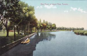 Canada Toronto Bay Front Of Island Park