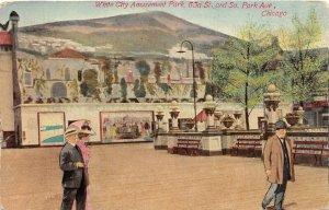 F47/ Chicago Illinois Postcard 1912 White City Amusement Park