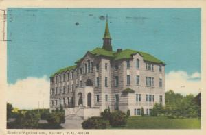 NICOLET , Quebec , Canada , 1920-40s ; Ecole d'Agriculture