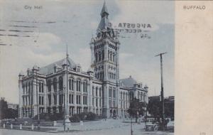 New York Buffalo City Hall 1905