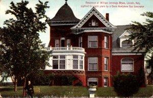 Nebraska Lincoln Residence Of William Jennings Bryan