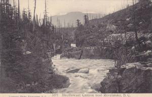 Illecillewaet Canyon Near Revelstoke, British Columbia, Canada, 1900-1910s