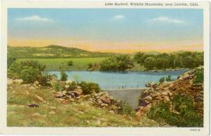 Linen of Lake Burford, Wichita Mountains near Lawton Oklahoma