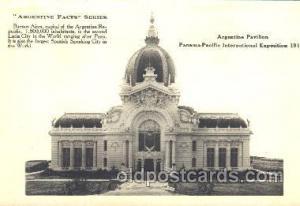 Argentine Pavillion 1915 Panama International Exposition, San Francisco, Cali...