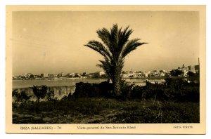 Spain - Ibiza, San Antonio General View    *RPPC
