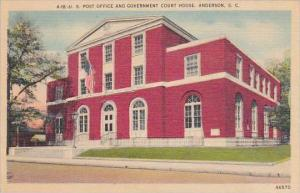 South Carolina Anderson U S Post Office And Government Court House