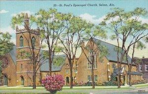 Alabama Selma St Paul's Episcopal Church Curteich