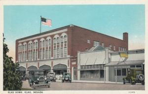 ELKO , Nevada, 1910-30s; Elks Home