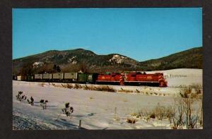 VT VERMONT Railroad Train DANBY to NORTH BENNINGTON PC