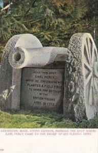 Stone Canon Lexington Massachusetts