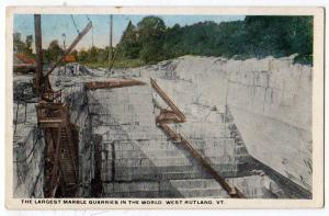 Largest Marble Quarries in the World, West Rutland VT