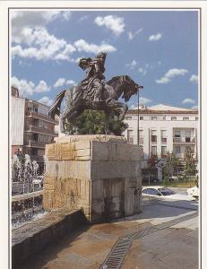 Postal 61618 : Plasencia (Caceres). Monumento a Alfonso VIII. Fundador de Pla...