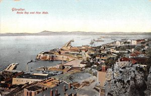 Rosia Bay and New Mole Gibraltar Unused