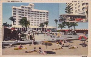 Florida Miami Beach the Kenilworth 1954