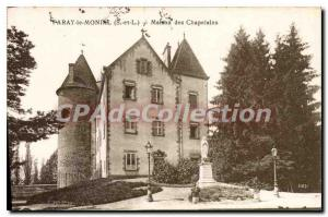 Old Postcard Paray Monial House of Chaplains