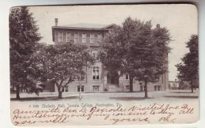 P110 JLs antique 1907 postcard junita college huntington pa
