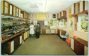 1950s Los Angeles California Advertising Postcard INGLEWOOD ELECTRONICS SUPPLY