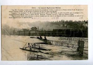 205312 FRANCE AVIATION hydroplane Bleriot Hauser #1814