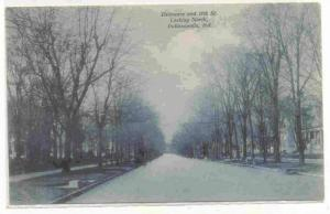 Delaware & 11th Street, Looking North, Indianapolis, Indiana, 1900-1910s