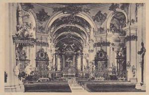 Switzerland St Gallen Klosterkirche Der Hochaltar