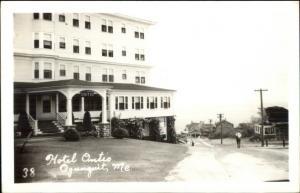 Ogunquit ME Hotel Ontio Real Photo Postcard #4