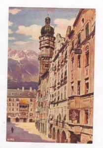 Herzog, Friedrich-StraBe Mit Goldenem Dachl, Innsbruck (Tirol), Austria, 1900...