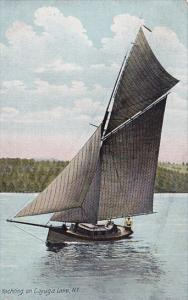 Yachting On Cayuga Lake New York
