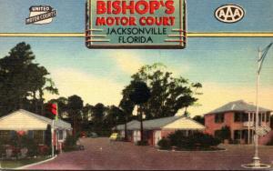 Florida Jacksonville Bishop's Motor Court