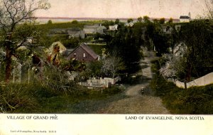 Canada - Nova Scotia, Grand Pre. Village       (creases)