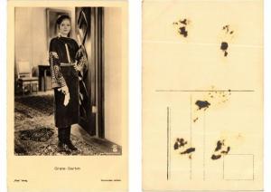 CPA Greta Garbo FILM STAR (554540)