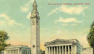 MA - Springfield, New Municipal Buildings