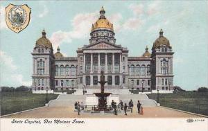 Iowa Des Moines State Capitol