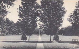 Washington Walla Walla View Of Grounds From Infirmary Building VA Hospital Ar...