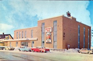 Corner Brook NL Canada Westport Hotel on Main Street, 1960s
