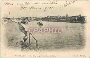 Old Postcard Compiege-general view taken of Goose Edges