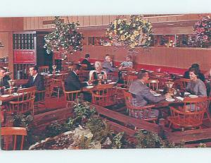 Unused Pre-1980 RESTAURANT SCENE Fresno California CA B8172